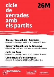 Cicle_xerrades_municipals_2019_Reus